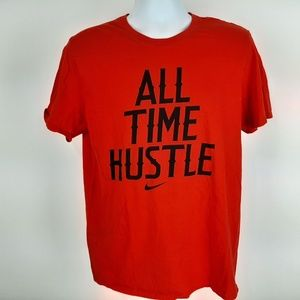 The Nike Tee Men's T-shirt Size Large Red SN23